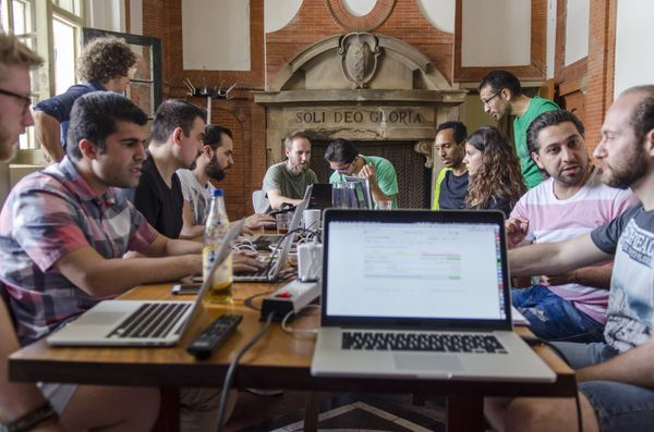 How we taught dozens of refugees to code, then helped them get developer jobs.